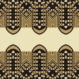Pattern from shine brilliant stones, rhinestones. Seamless ornament can be used for fabric Royalty Free Stock Images