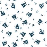 Pattern Ships Royalty Free Stock Photography