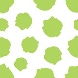Pattern Silhouette Ð¡abbage Royalty Free Stock Photo