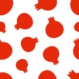 Pattern Silhouette Garnet Royalty Free Stock Image