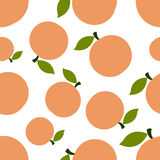 Pattern Silhouette Peaches Stock Photo