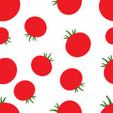 Pattern Silhouette Tomato Royalty Free Stock Images