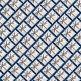 A pattern of silver gift boxes on a blue background. A pattern of silver gift boxes on a blue background Stock Images