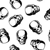 Pattern of skull, Stock Photos