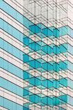 Pattern of an skyscrapper royalty free stock photo