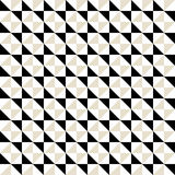 Pattern with small triangles Royalty Free Stock Photos
