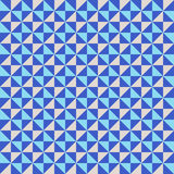 Pattern with small triangles Stock Photography