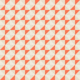Pattern with small triangles Stock Images