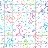 Pattern with snakes Royalty Free Stock Photo