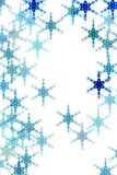 Pattern with snow Royalty Free Stock Photos