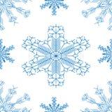 pattern_snowflake stock illustrationer