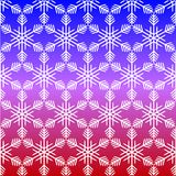 Pattern from snowflake without seam royalty free illustration