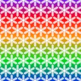 Pattern from snowflake without seam royalty free stock image