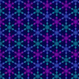 Pattern from snowflake without seam stock photos