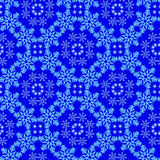 Pattern from snowflake Royalty Free Stock Photo