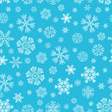 The pattern of snowflakes Royalty Free Stock Photography