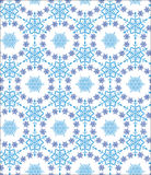 Pattern with snowflakes Royalty Free Stock Photos