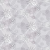 Pattern from snowflakes Royalty Free Stock Image