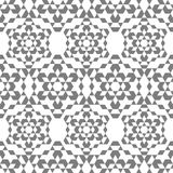 The pattern of snowflakes in an isometric style. stock images