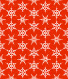 Pattern with snowflakes Royalty Free Stock Photo