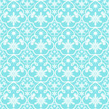 Pattern from snowflakes Stock Image