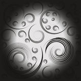 Pattern of spirals Royalty Free Stock Image