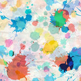 Pattern of spray paints Stock Photography