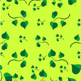 Pattern - Spring sprouts Stock Photo
