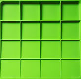 Pattern of square. Pattern of leaf green squares made from plastic . use for background Royalty Free Stock Images