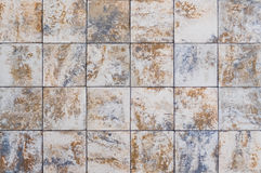 Pattern square rock for texture and background Stock Images
