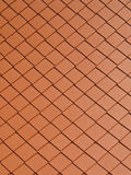 Square tile roof Stock Images