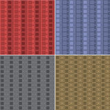 Pattern squares and diamonds Stock Photo