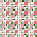 Pattern of squares Royalty Free Stock Images