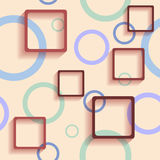 Pattern with squares Stock Photos