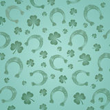 Pattern for St. Patrick Stock Photos