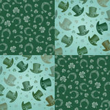Pattern for St. Patrick Royalty Free Stock Photography