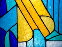 Stained glass colour Stock Photo