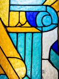 Stained glass colour Stock Image