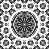 Pattern star Royalty Free Stock Photos