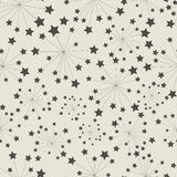 Pattern star seamless Royalty Free Stock Photos