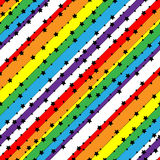 Pattern stars. Vector background. Royalty Free Stock Photos
