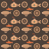Pattern steampunk Royalty Free Stock Image