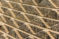 Pattern of steps in the historic weel of Abhaneri