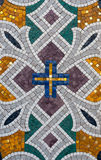Pattern of stone mosaic. Stock Photo
