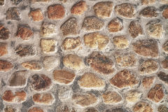 Pattern of stone wall Royalty Free Stock Photography