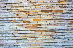 Pattern of stone wall background.  Stock Photos