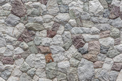 Pattern of stone wall with cement surface background. royalty free stock image
