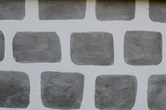 Pattern of a stone wall Stock Photography