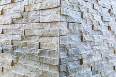 Pattern of stone wall surface Royalty Free Stock Images