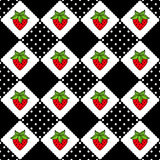 Pattern Strawberry Seamless Royalty Free Stock Photo